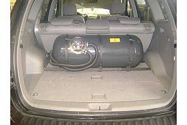 Montaj rezervor cilindric de 90 de litri Infiniti FX 35 service ultra gaz