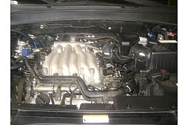 Montaj instalatie gpl Tomasetto Stag 300 Infiniti FX 35 motor cu 6 cilindri